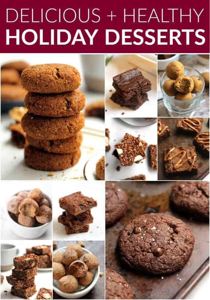 Delicious Healthy Holiday Desserts