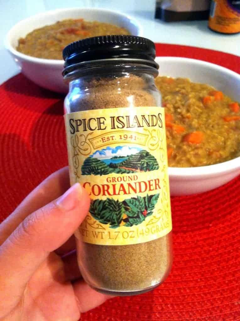 soup-coriander