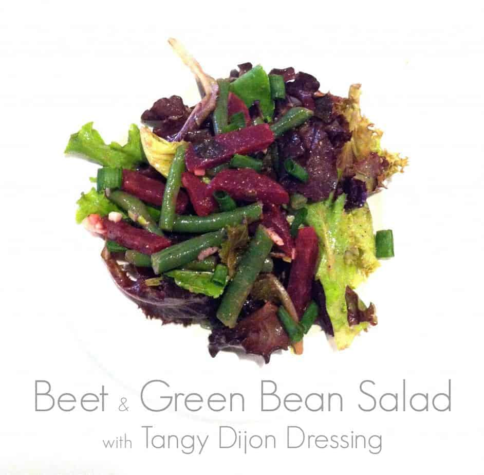 Beet and Green Bean Salad with Tangy Dijon Dressing ...