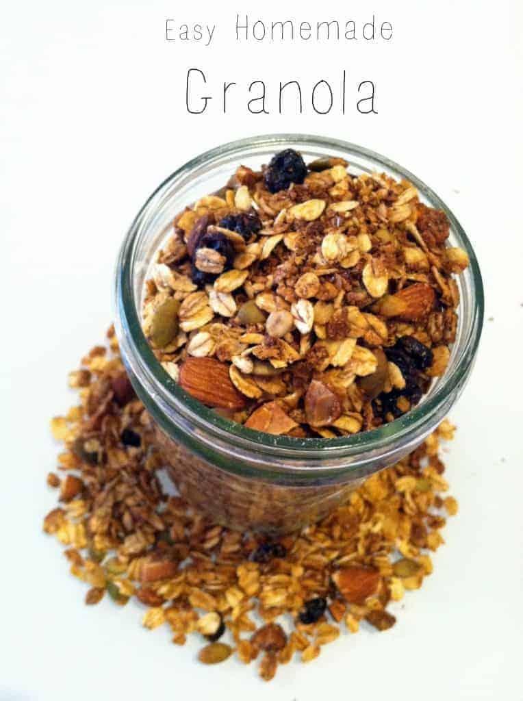Easy Homemade Granola | Hummusapien