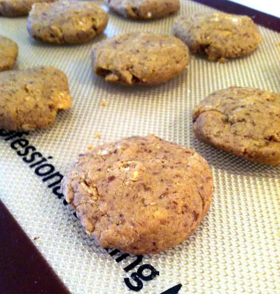 No-Bake Peanut Butter Protein Cookies + Giveaway | Hummusapien