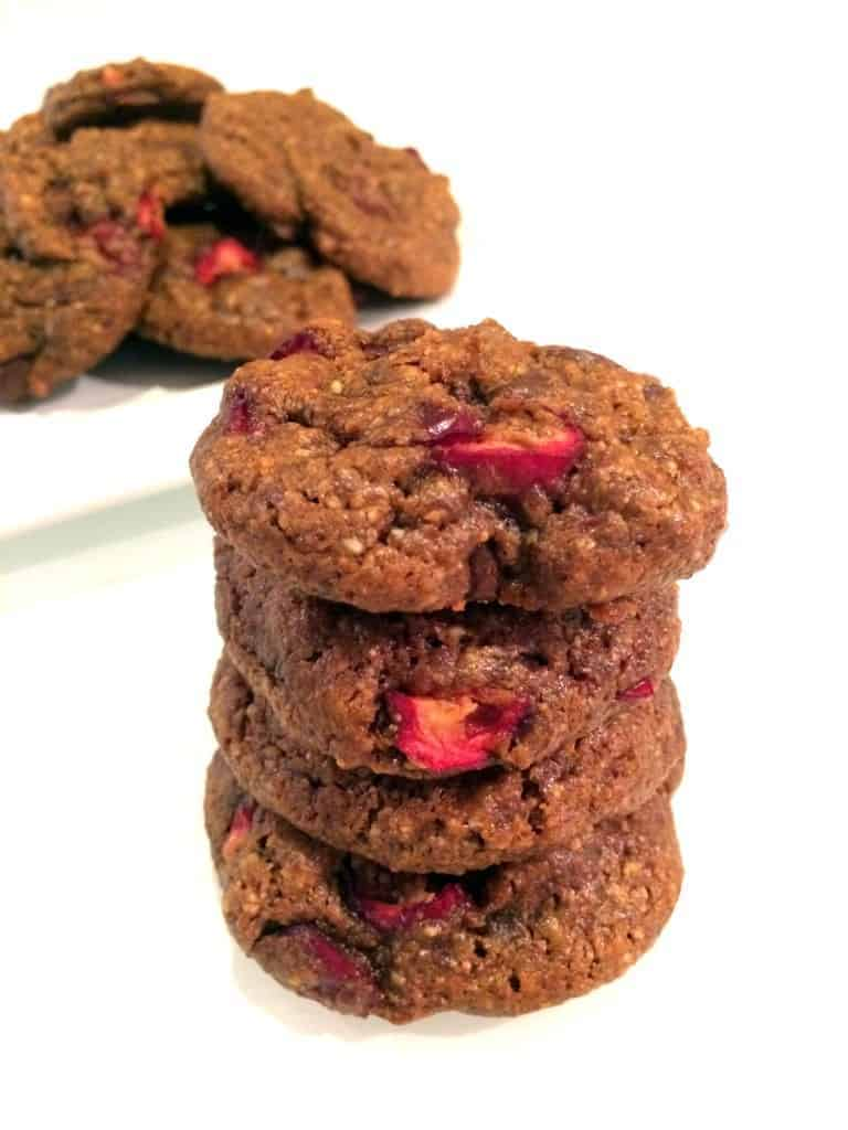 ... refined sugar and loaded with fresh cranberries and chocolate chips