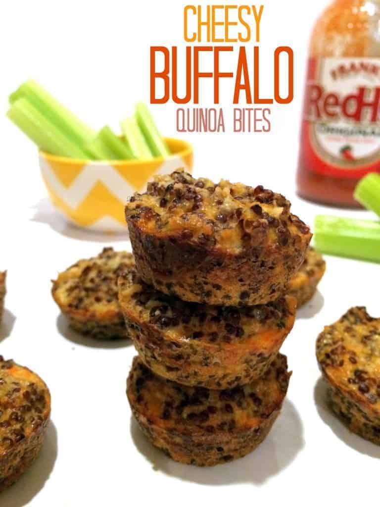 Cheesy Buffalo Quinoa Bites 4 picmonkey