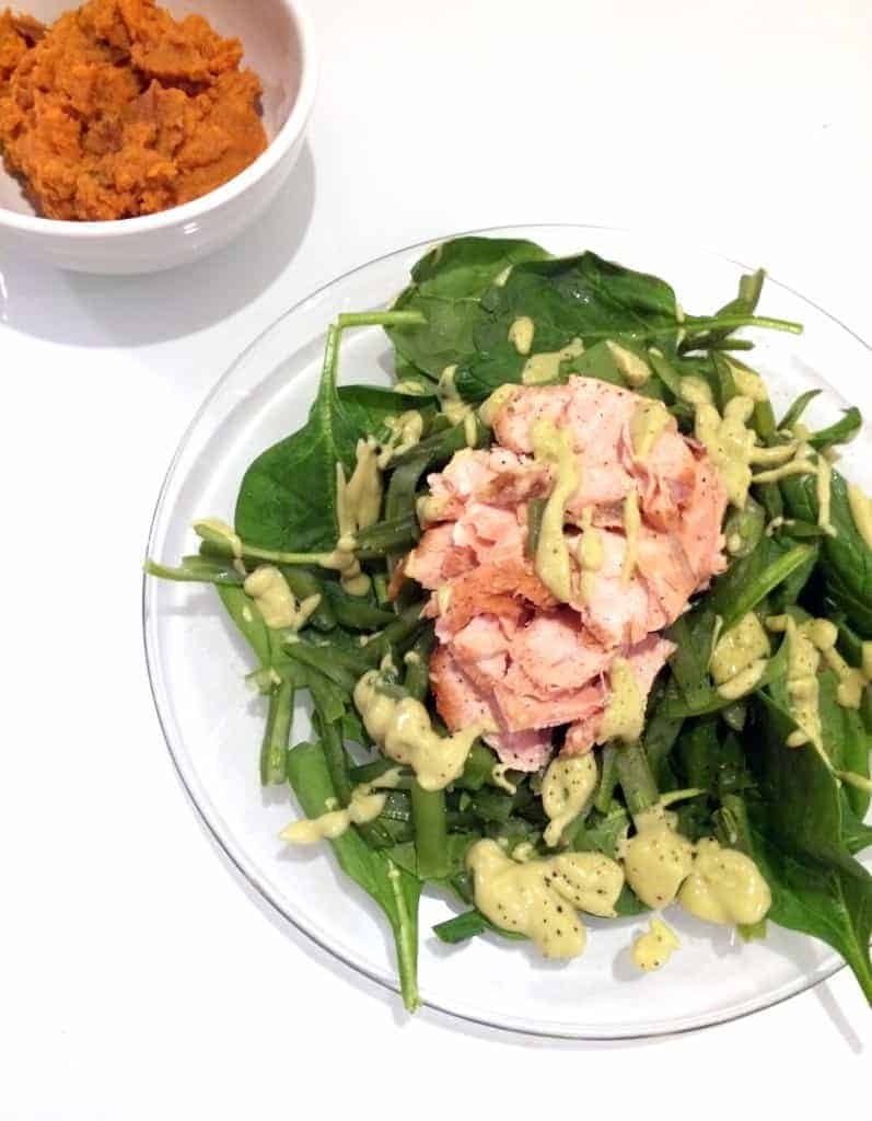 salmon salad good