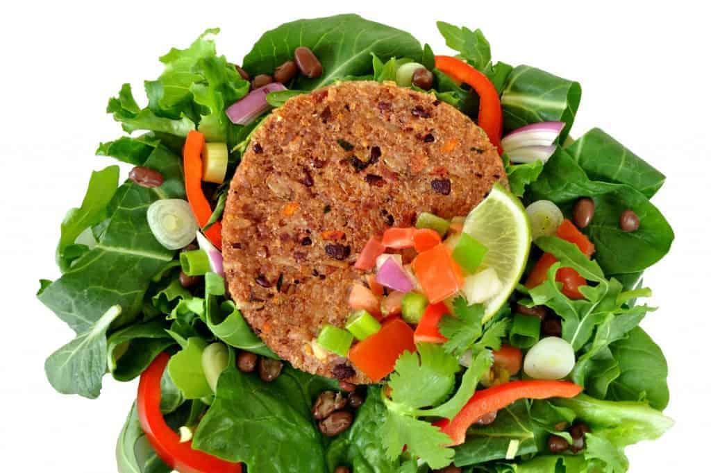 BlackRiceBurger-Salad