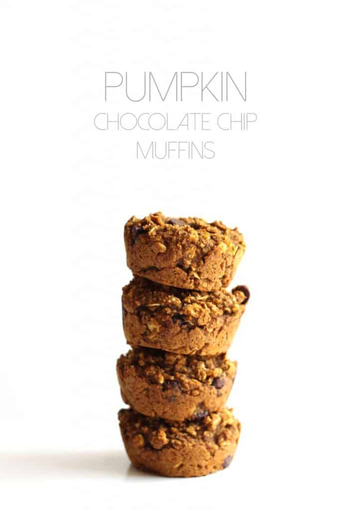 Vegan & Gluten-Free Pumpkin Chocolate Chip Muffins