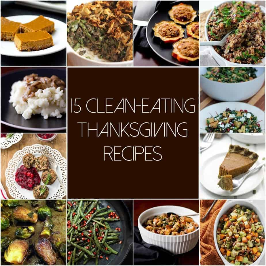 15 Clean Eating Thanksgiving Recipes