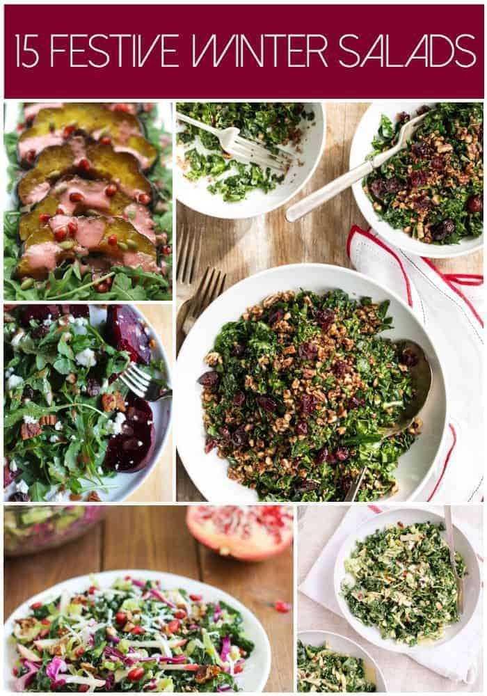 15 Festive Winter Salads