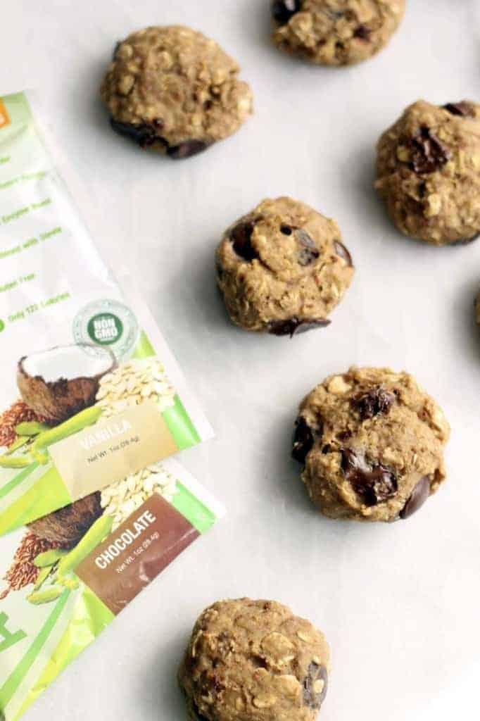 Banana Nut Protein Cookies (Vegan, Gluten-Free)
