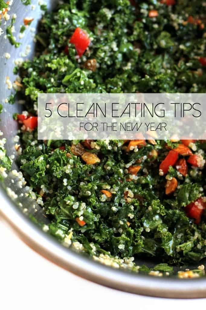 5 Clean Eating Tips for the New Year