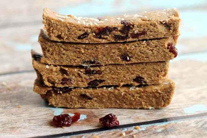 This No-Bake Vegan Cherry Vanilla Protein Bar Recipe is the perfect easy snack! They're packed with protein, and zerorefined sugar, flour, or oil.