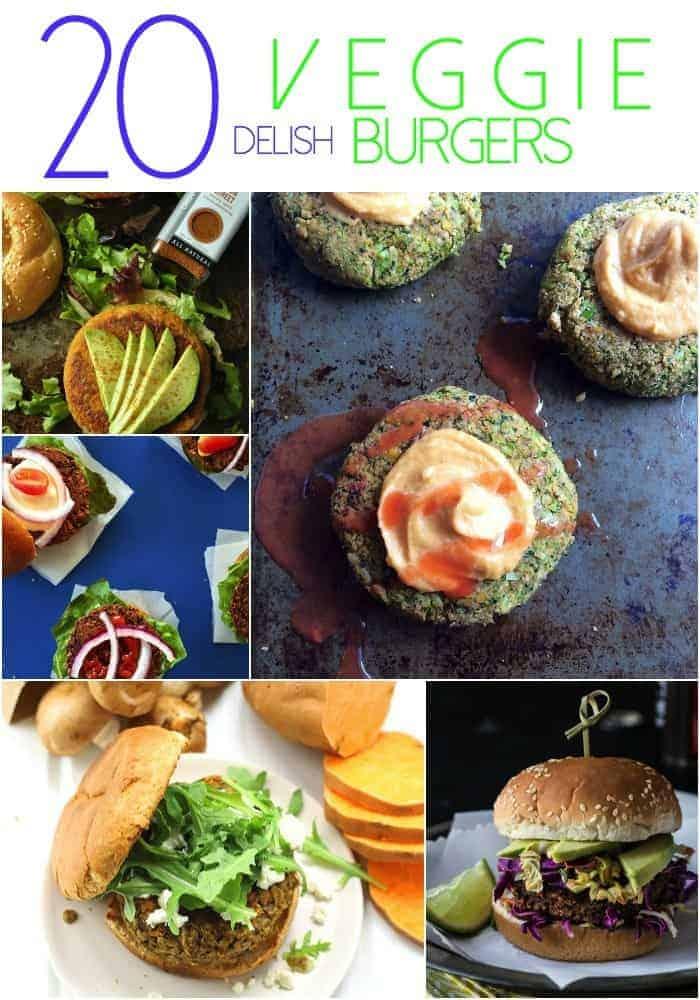 20 Delish Veggie Burgers