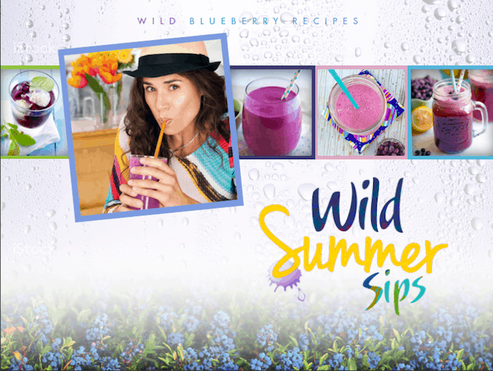 Wild Blueberry Sweepstakes