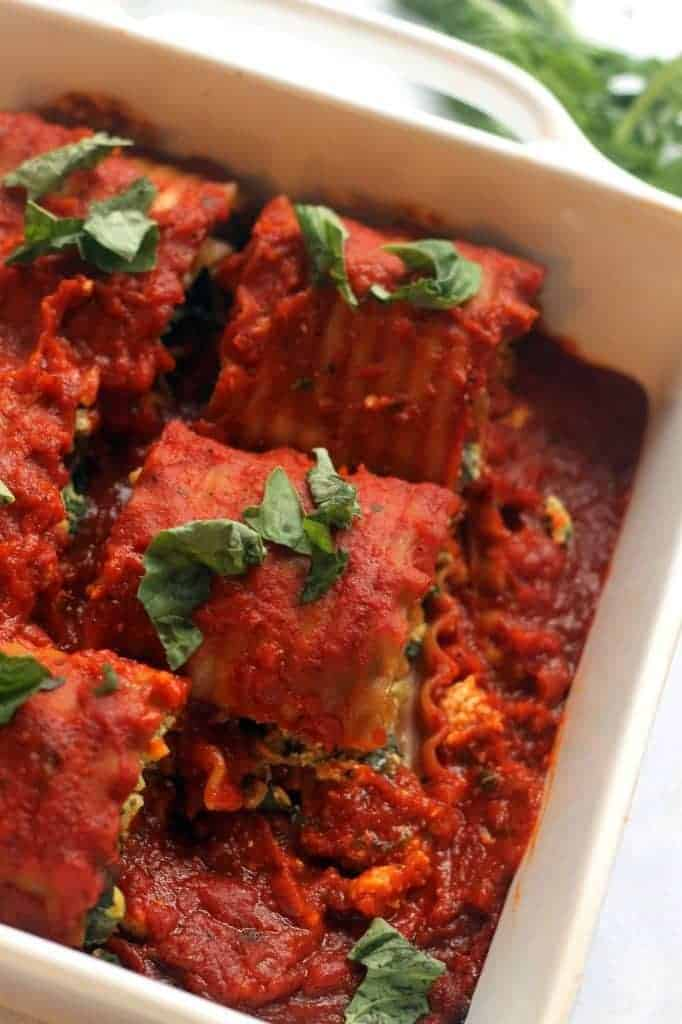 You'd never guess these Vegan Summer Vegetable Lasagna Rolls were vegan! Even BETTER than the original. Creamy, delicious, and carnivore-friendly!