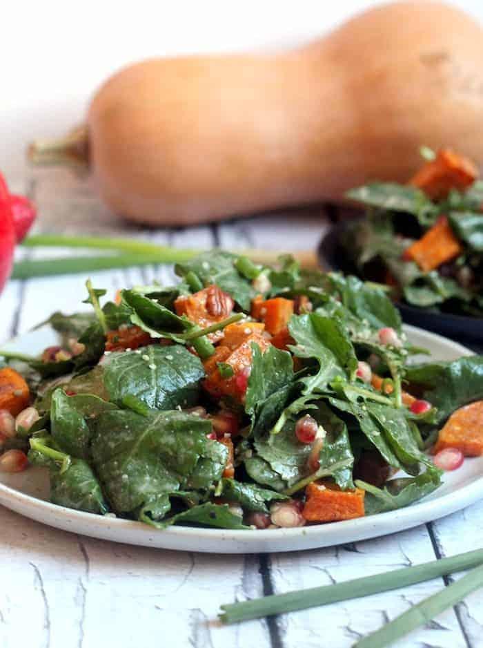 Fall Harvest Superfood Salad
