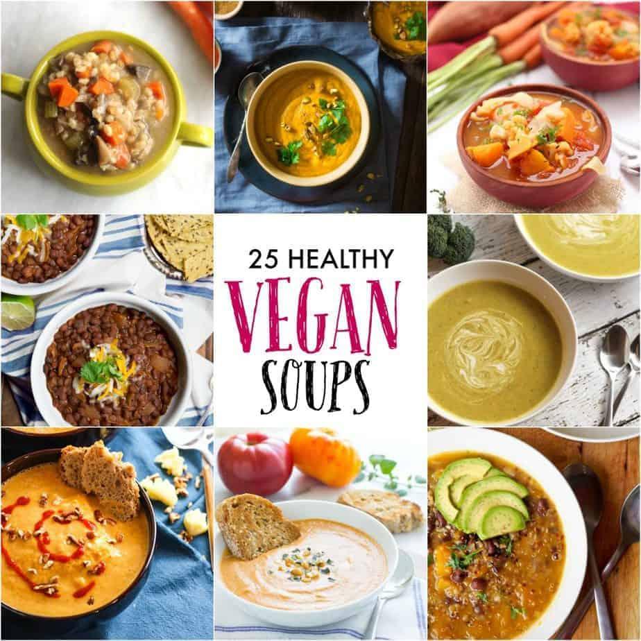Healthy Vegan Soup Recipes
