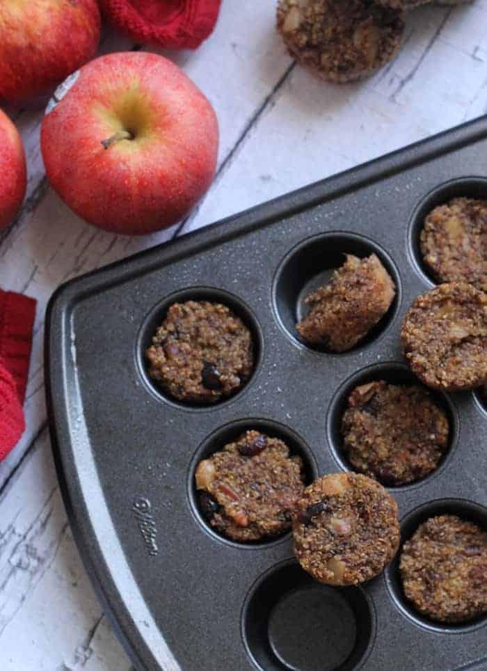 Apple Pie Quinoa Bites