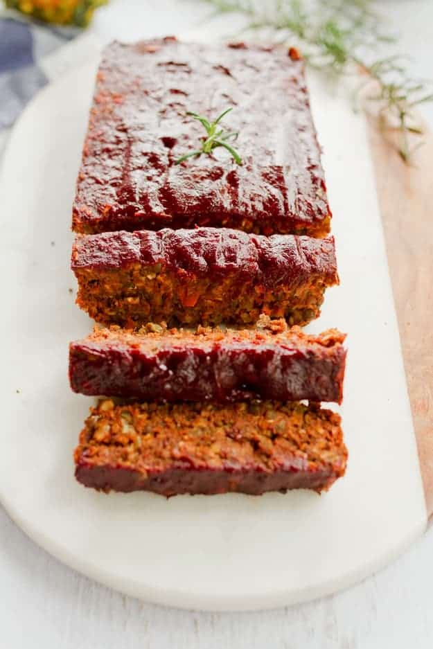 Lentil-Loaf-with-a-Maple-Glaze