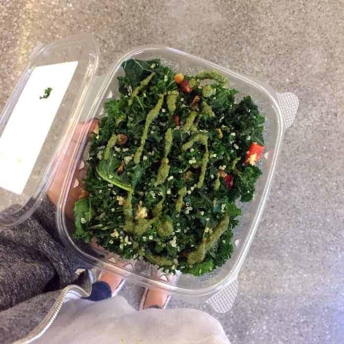 kale quinoa