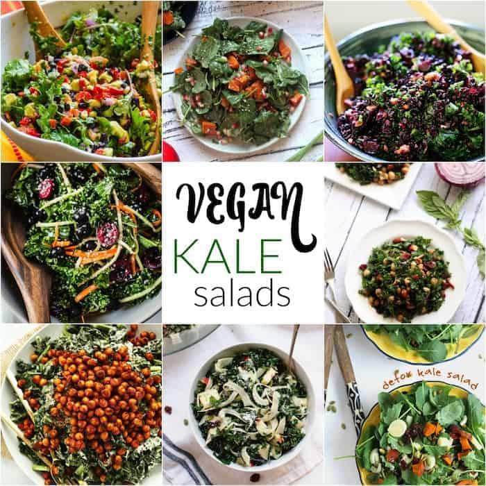 Vegan Kale Salad Recipes