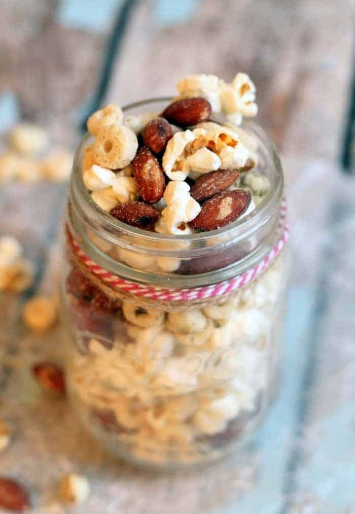 Spice up your tailgate with this Spicy Wasabi Trail Mix!