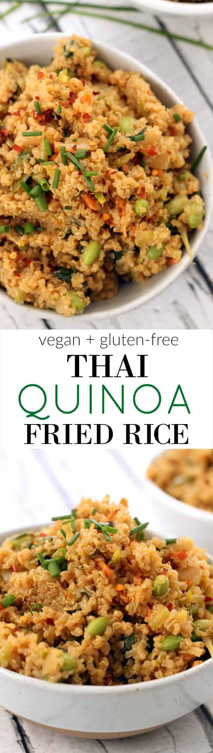 Thai Quinoa Fried Rice