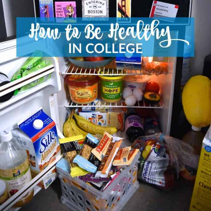 How to Be Healthy in College
