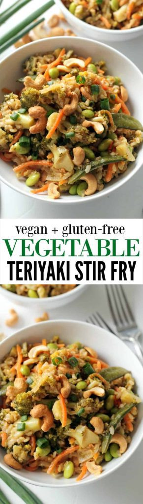 This easy vegetable teriyaki stir fry is a foodgasm that can be on your table tonight in under 30 minutes! Dive right into the delectable deliciousness.