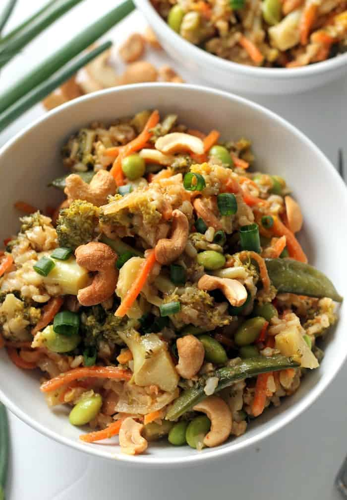 Easy Vegetable Teriyaki Stir Fry That S Vegan Gluten Free