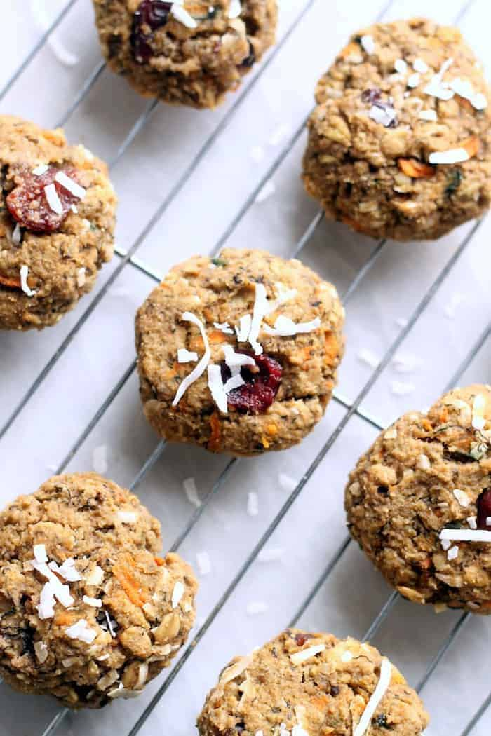 Morning Glory Breakfast Cookies...healthy, flourless, vegan and gluten-free!