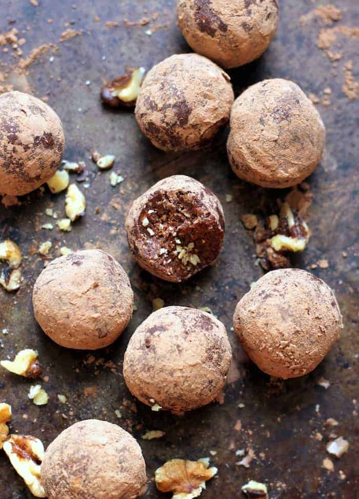 Raw Mexican Hot Chocolate Truffles