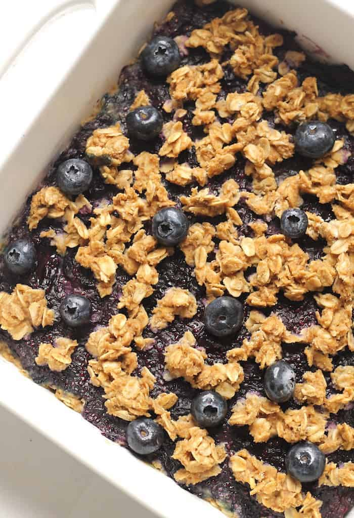 healthy blueberry oatmeal snack bars hummusapien