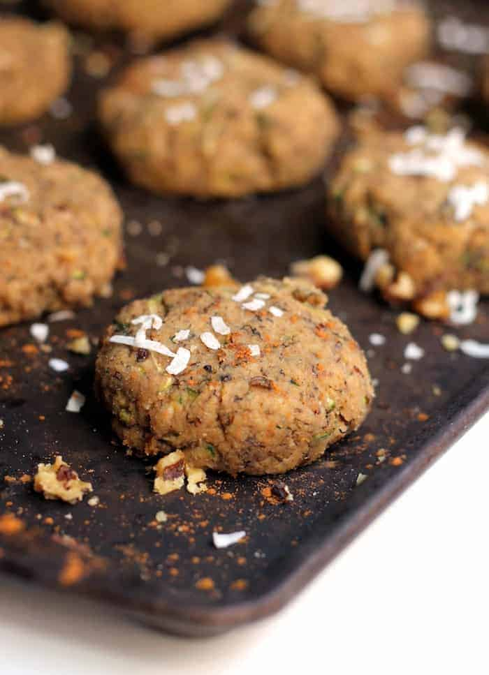 These easy Banana Zucchini Cake Cookies are so soft and pillowy that you