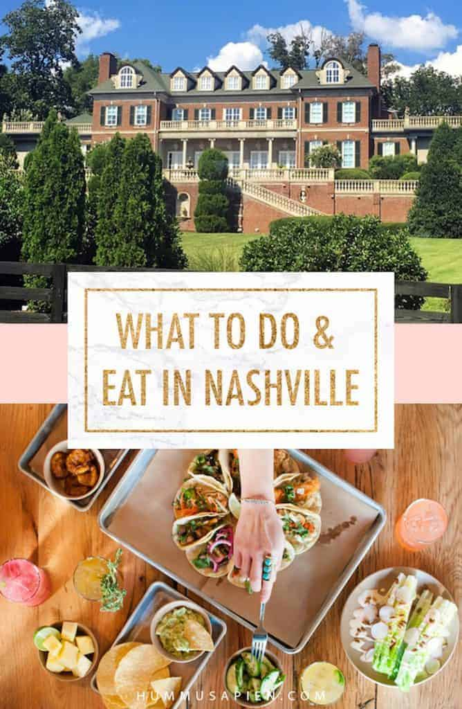 A travel guide on where to stay, eat, and play in Nashville!