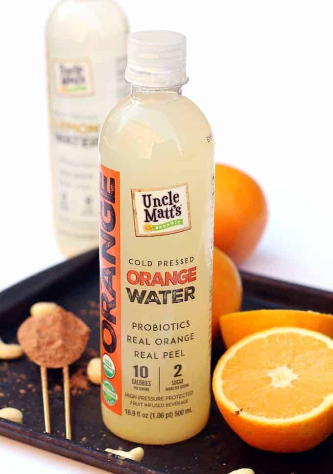 This thick and creamy Chocolate Orange Smoothie is packed not only with fresh citrus flavor, but also probiotics and vitamin C!