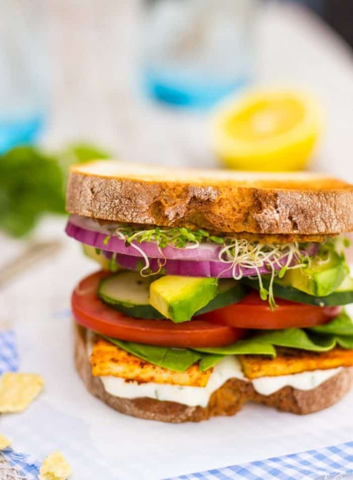 The Ultimate Veggie Sandwich from She Likes Food