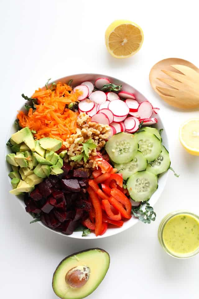 Spring Cleaning Detox Salad from The Roasted Root