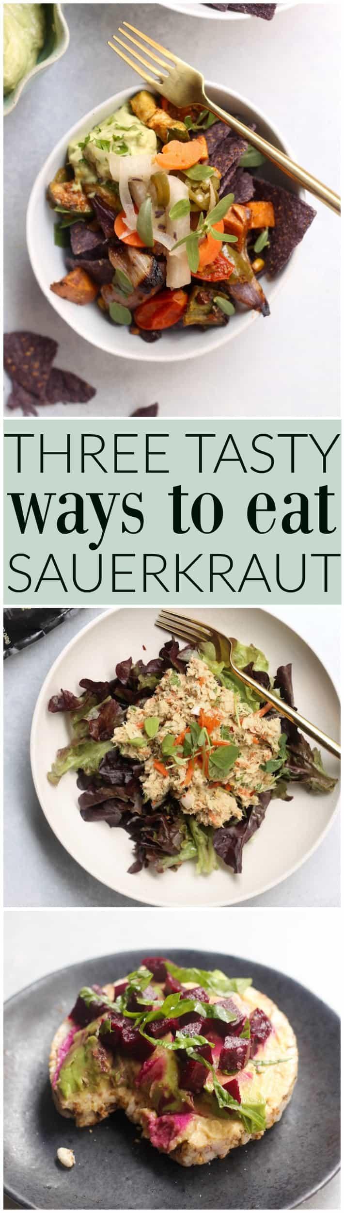 The BEST ways to make sauerkraut delicious!