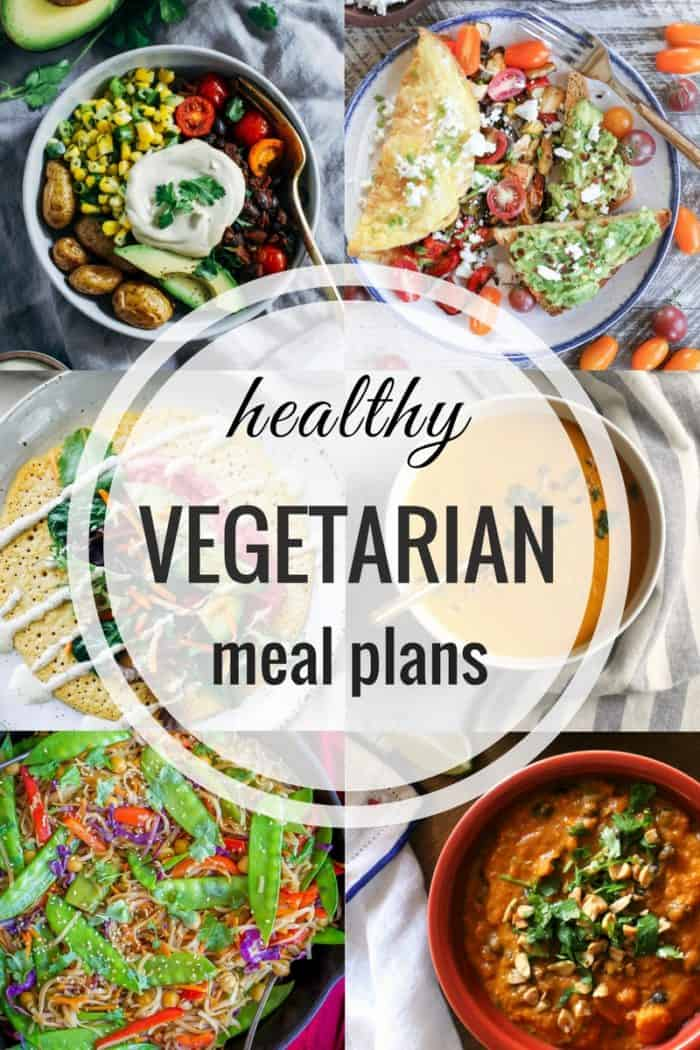 Healthy Vegetarian Meal Plans Week 66