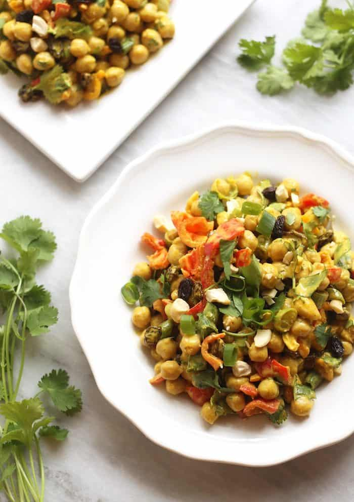 Curried Chickpea Salad from Hummusapien