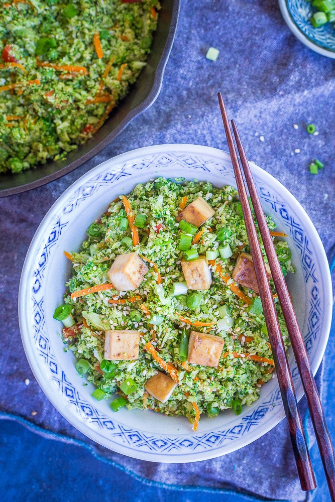 """Easy Broccoli Fried """"Rice"""" from She Likes Food"""