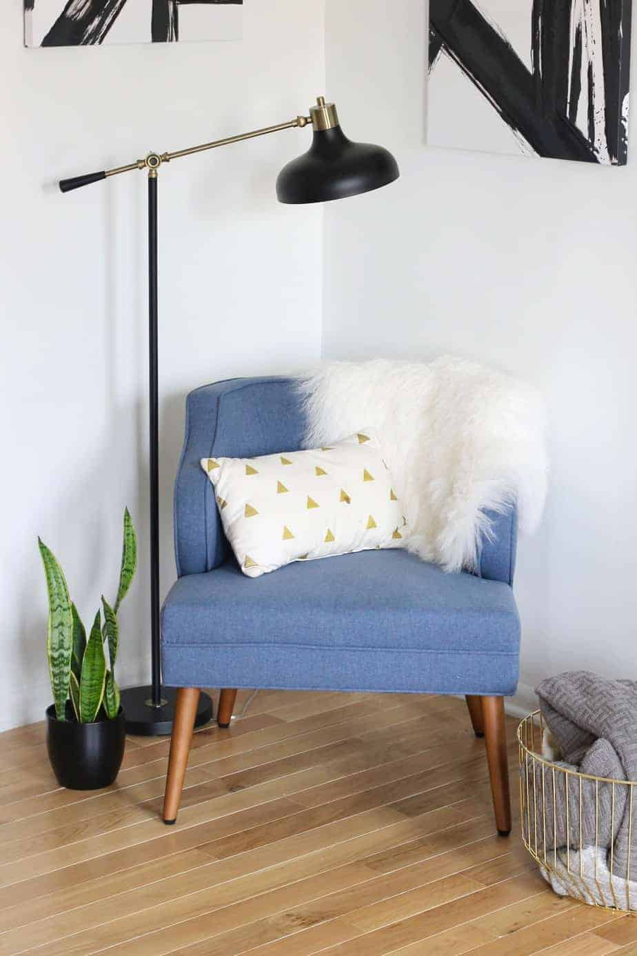 Styling small spaces: mid century modern