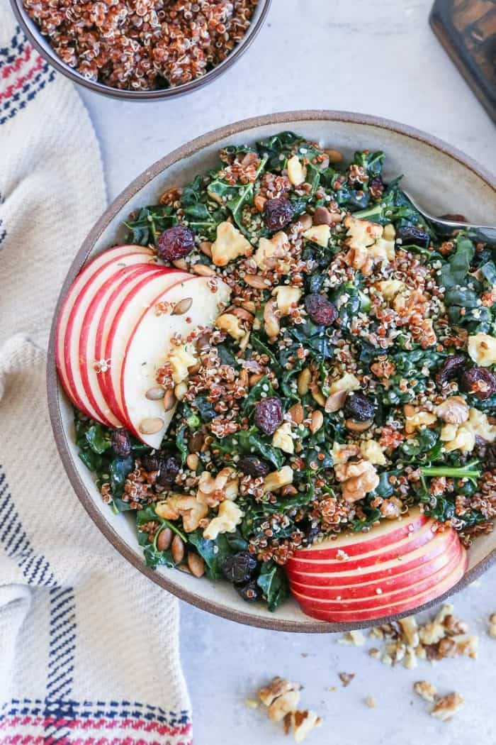 Kale and Quinoa Salad from The Roasted Root