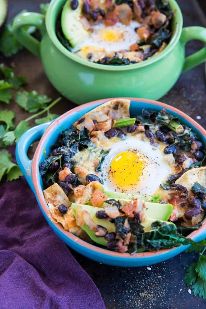 Baked Huevos Rancheros from The Roasted Root