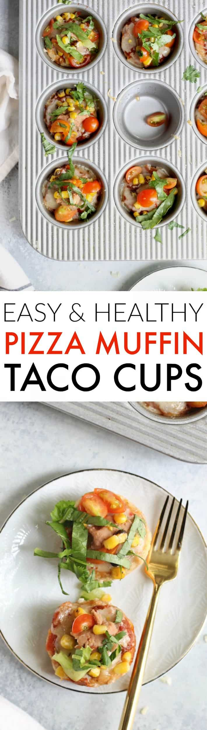 Dig into these quick and easy Taco Pizza Muffin Cups as a fun appetizer or wholesome after-school snack! Kids and adults alike will love this fun recipe.