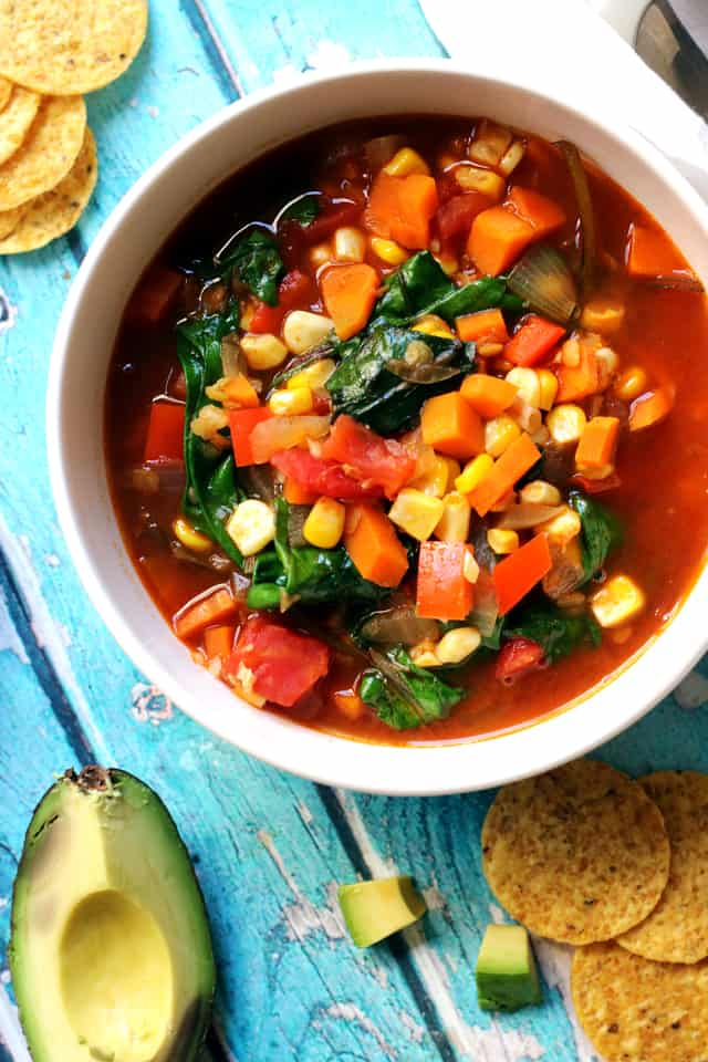 Vegan Sopa Azteca from Eats Well With Others
