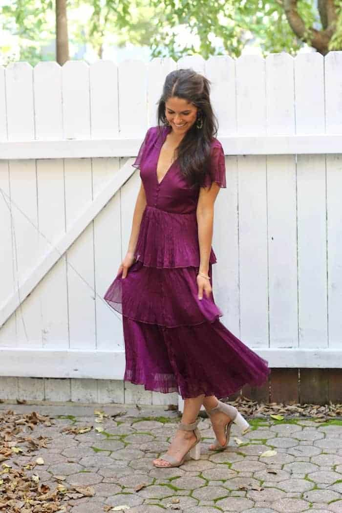 adorable  affordable wedding guest dresses for fall