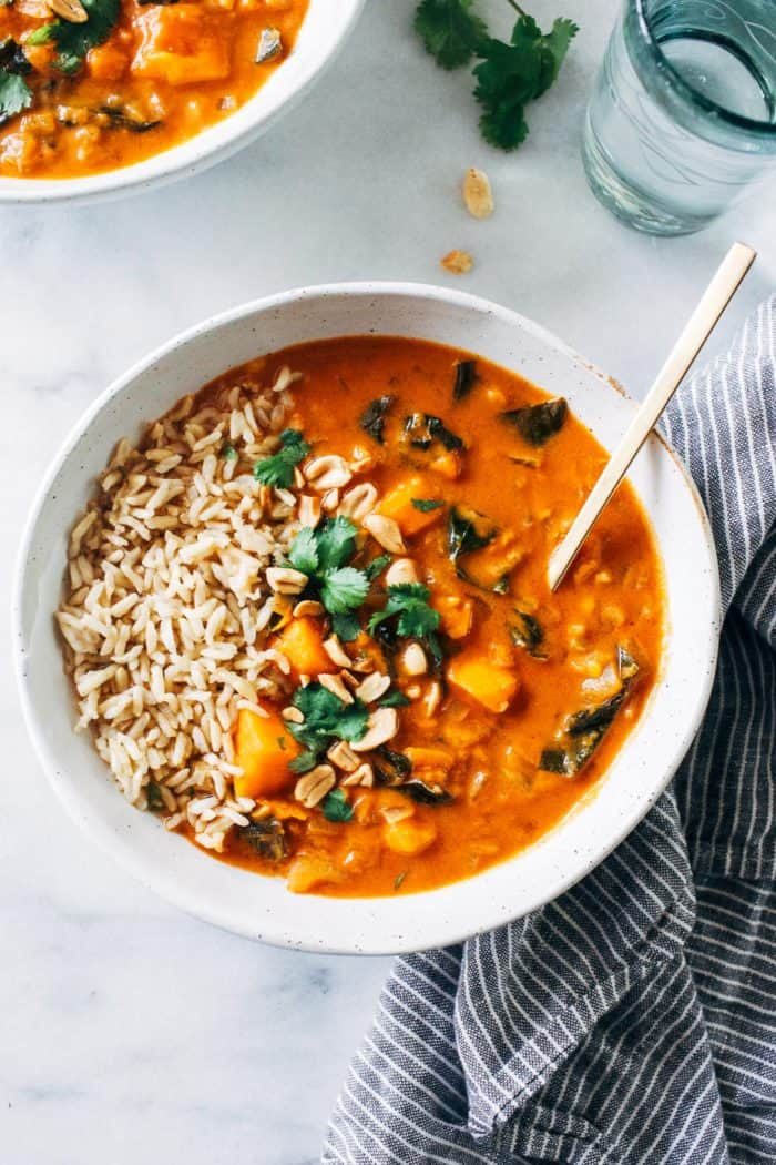 One-Pot African Peanut Stew from Making Thyme for Health
