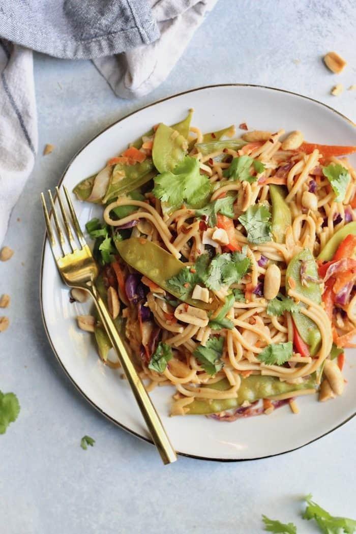 Pad Thai Stir Fry from Hummusapien