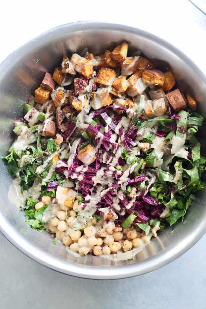 Israeli Power Salad with Za